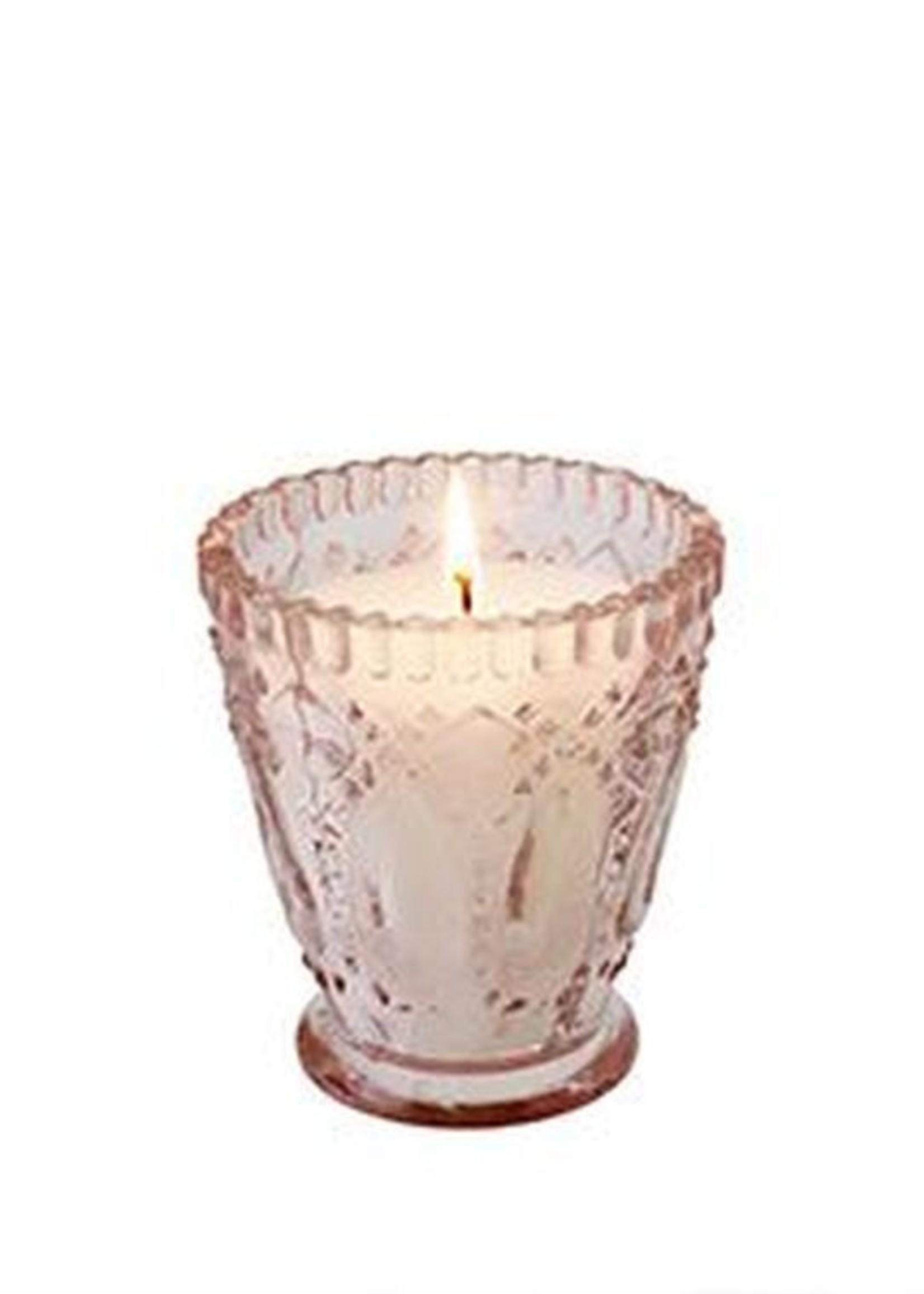 indaba Amelie Candle, Blush - Oud Gold