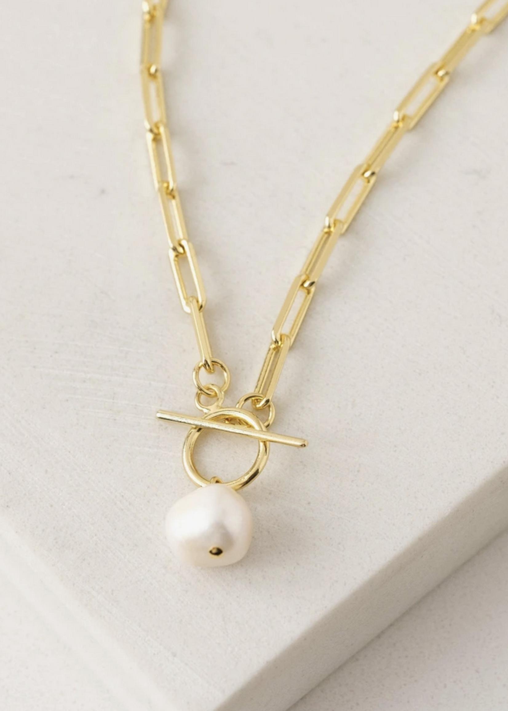 Thalassa Pearl Necklace Gold