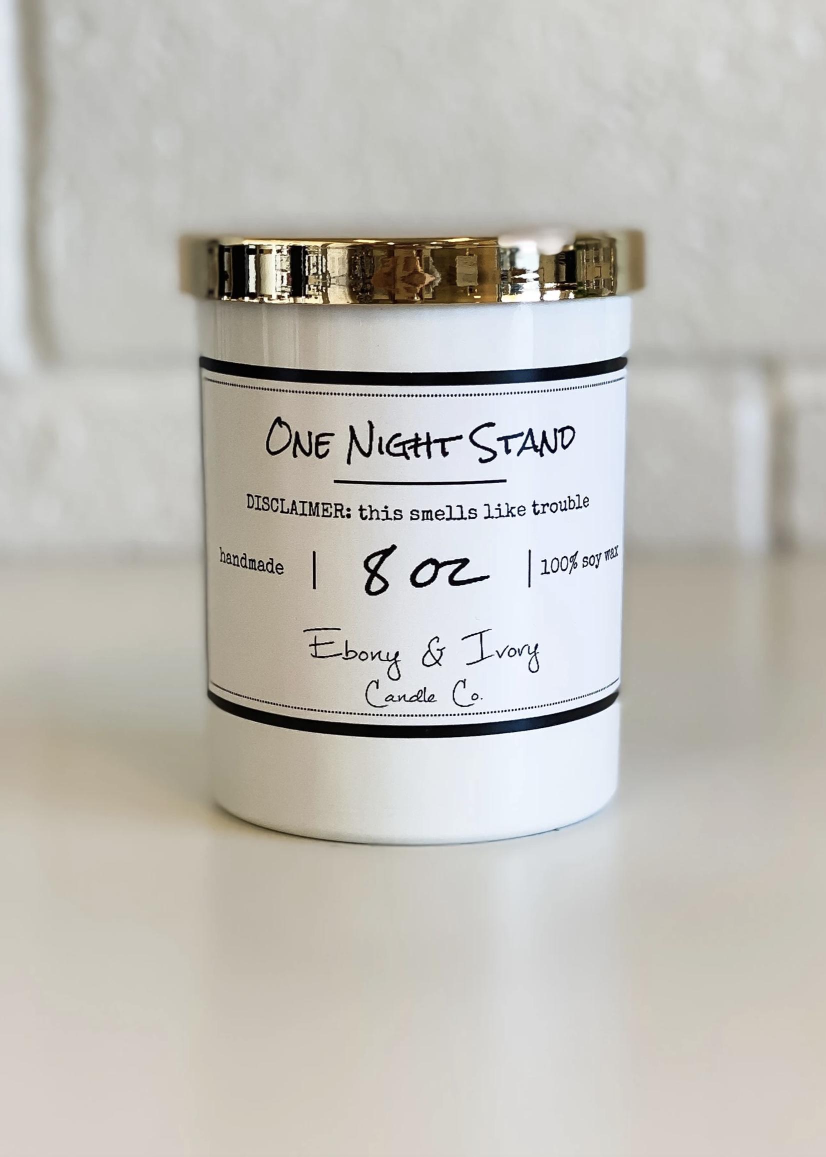 Ebony & Ivory Candle Co. One Night Stand  -8oz