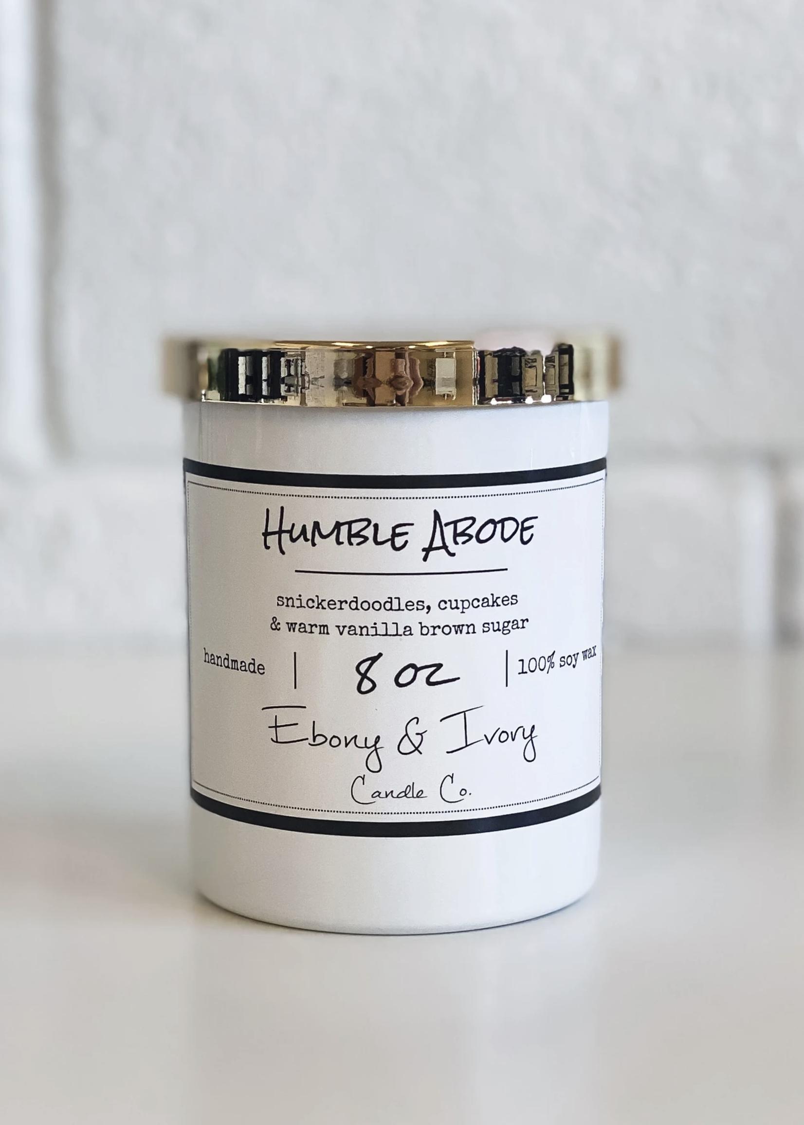 Ebony & Ivory Candle Co. Humble Abode- 8oz