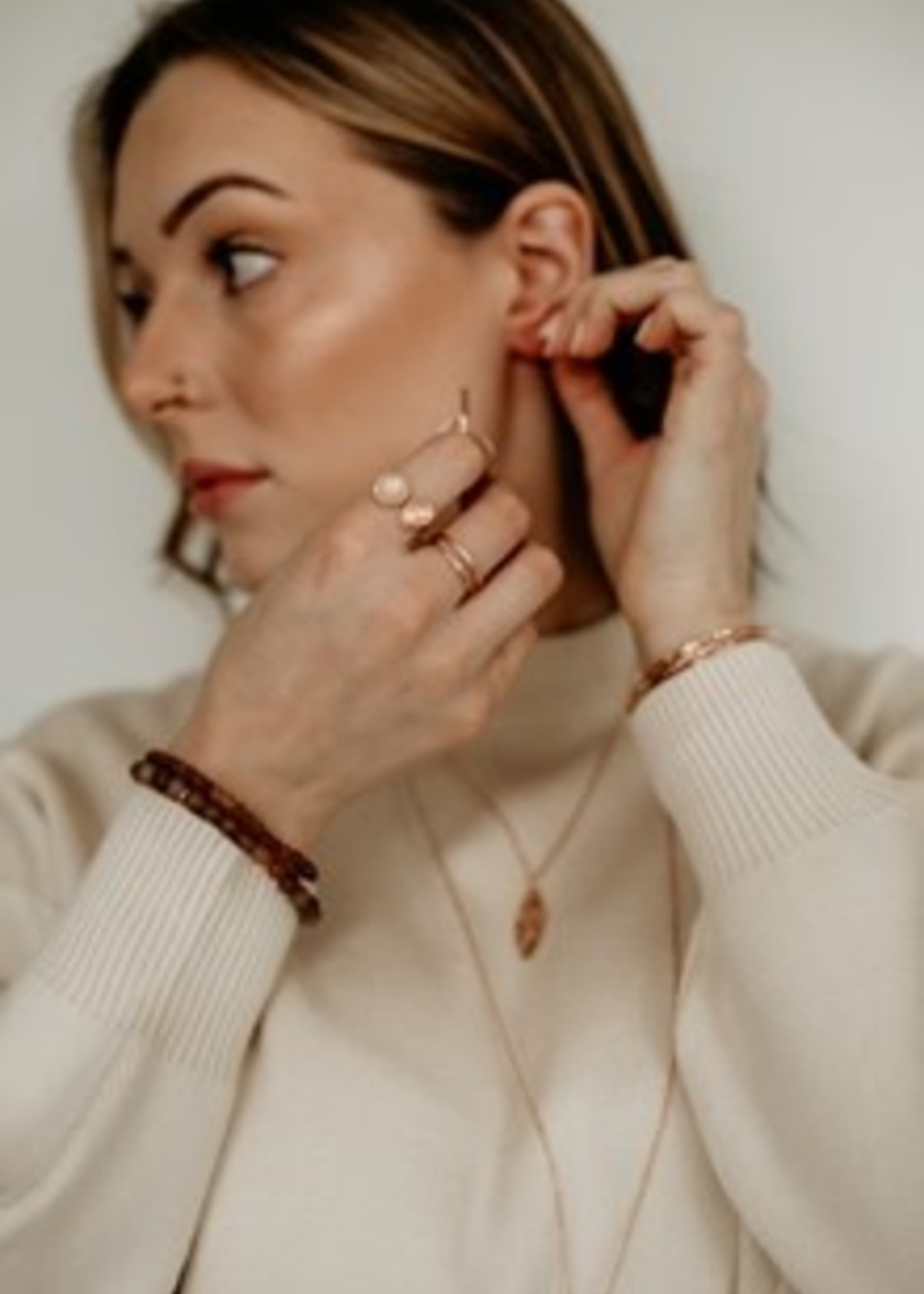 Glee Jewelry Patsy ring rose gold