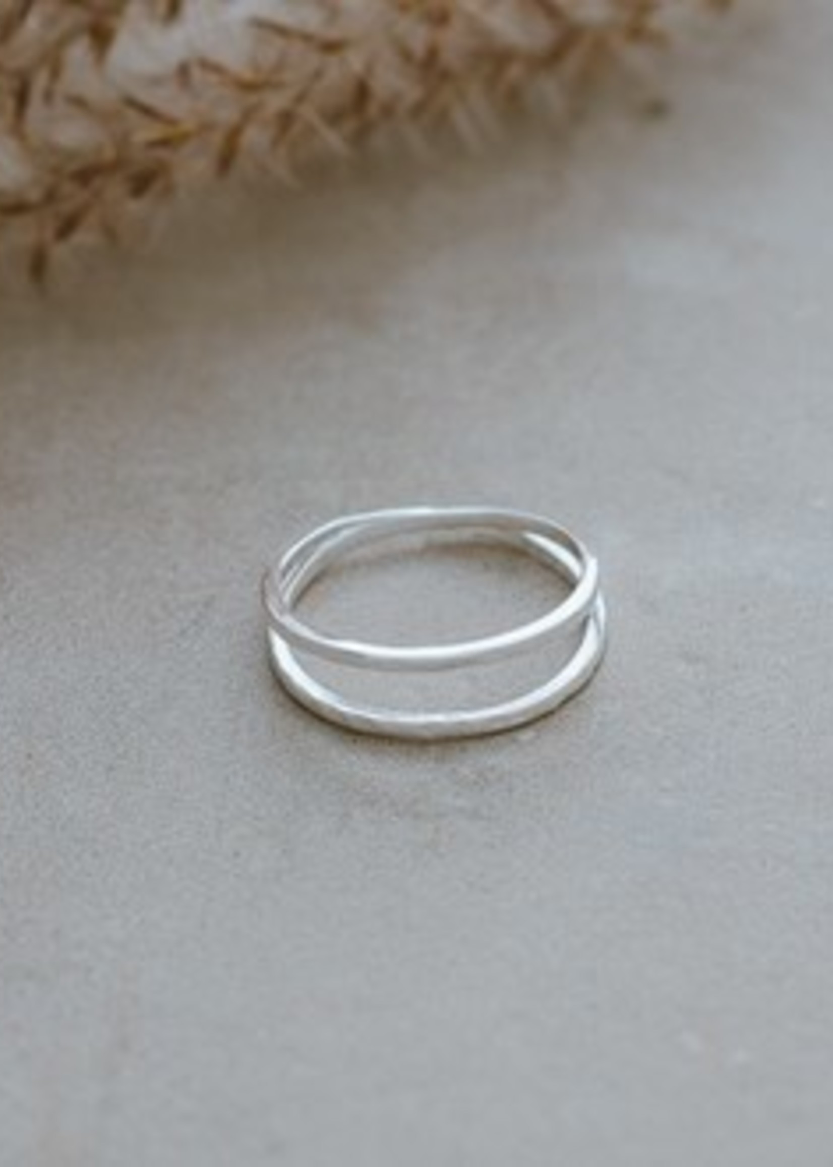 Glee Jewelry Patsy ring silver