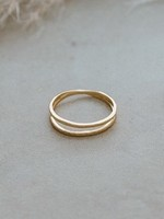 Glee Jewelry Patsy Ring Gold