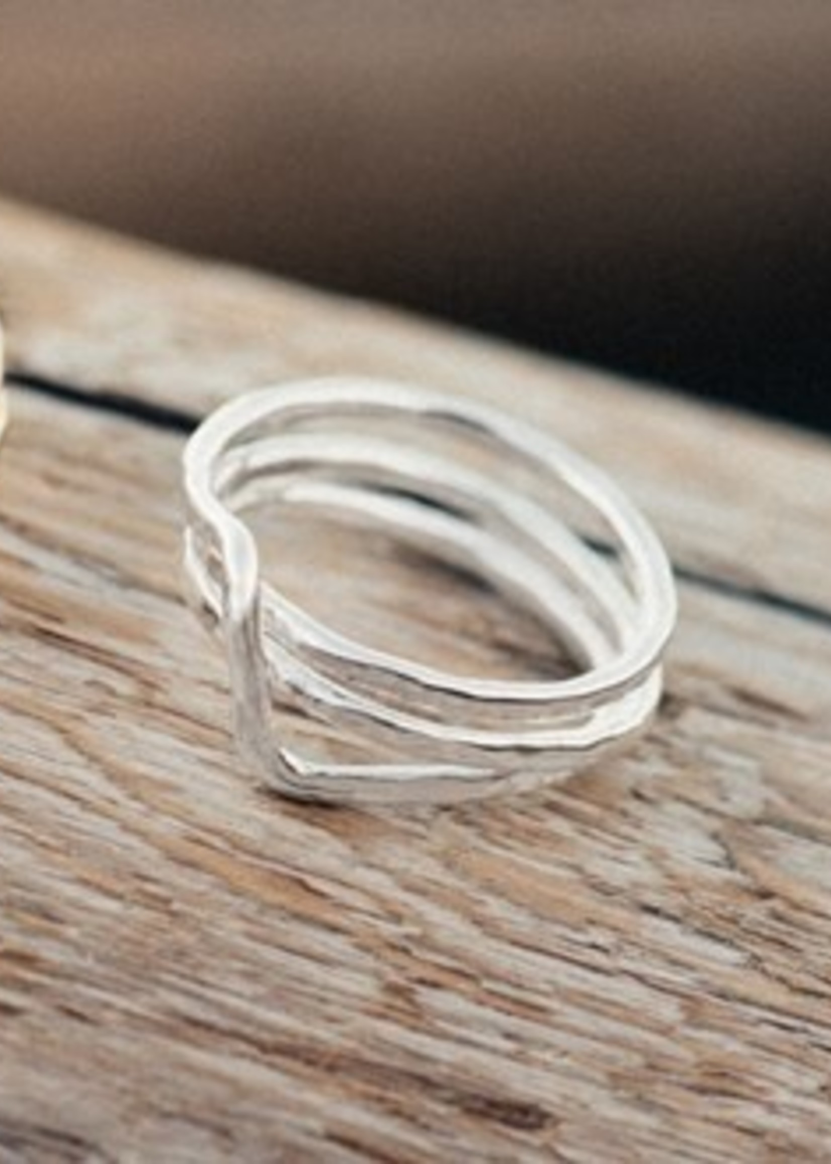 Glee Jewelry Witty Ring Silver