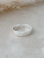 Glee Jewelry Missy Ring Silver