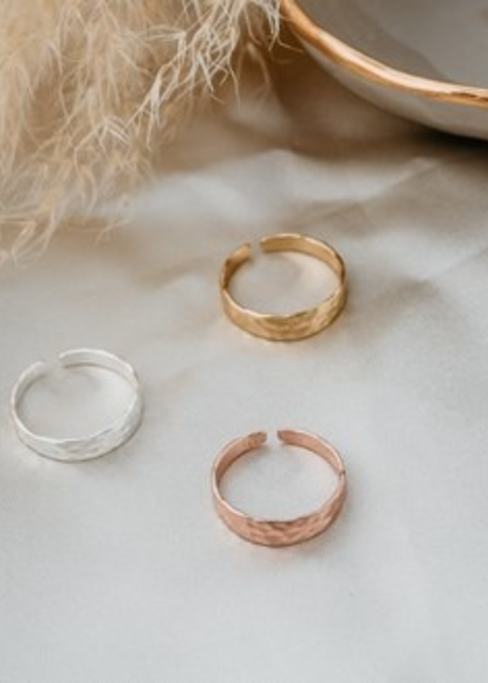Glee Jewelry Missy Ring Rose Gold