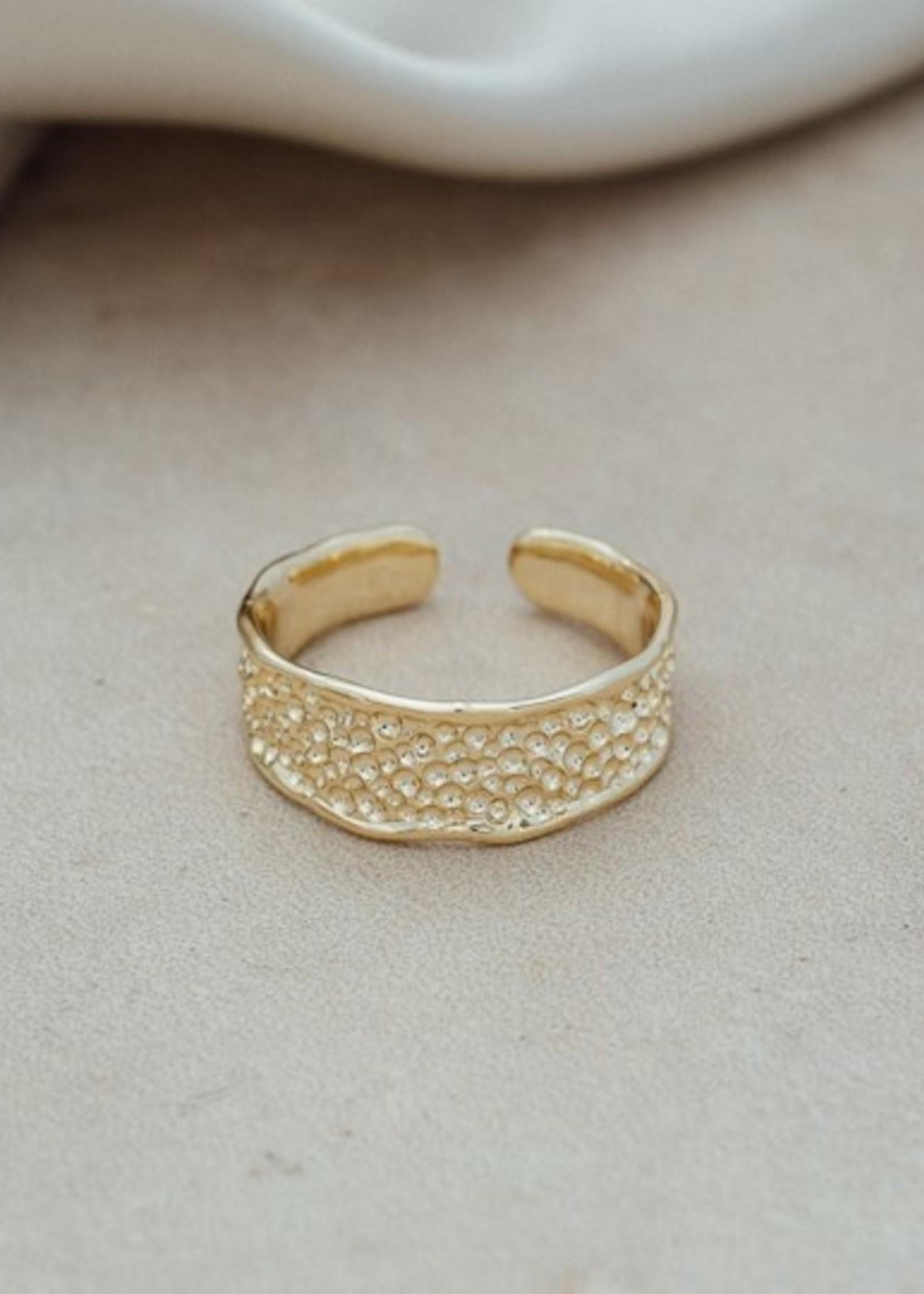 Glee Jewelry Emmy Ring Gold