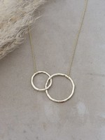 Glee Jewelry Sister Necklace Gold