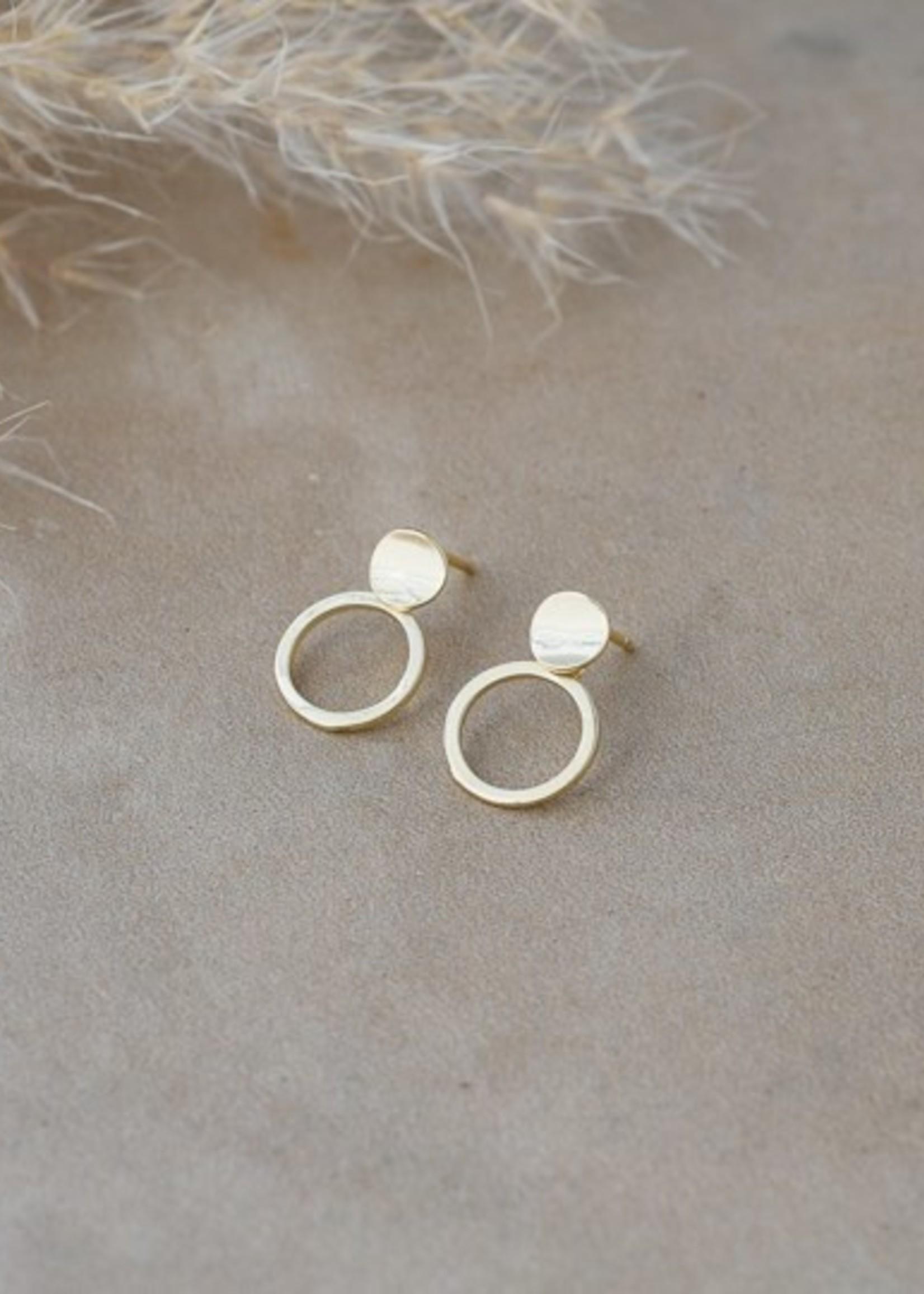 Glee Jewelry Shiloh Stud Gold