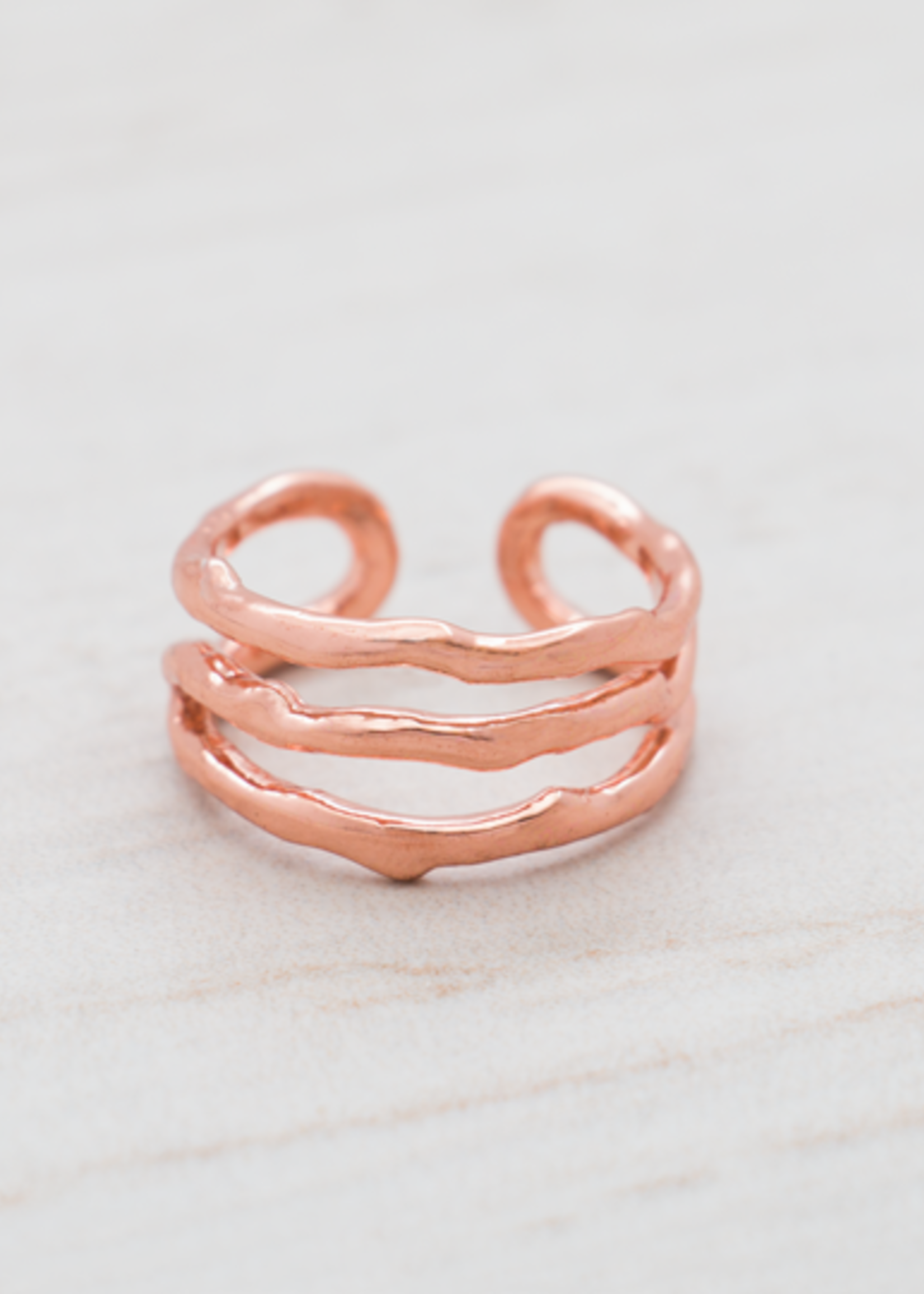Glee Jewelry Sage ring rose gold