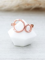 Glee Jewelry Faith Ring Rose Gold