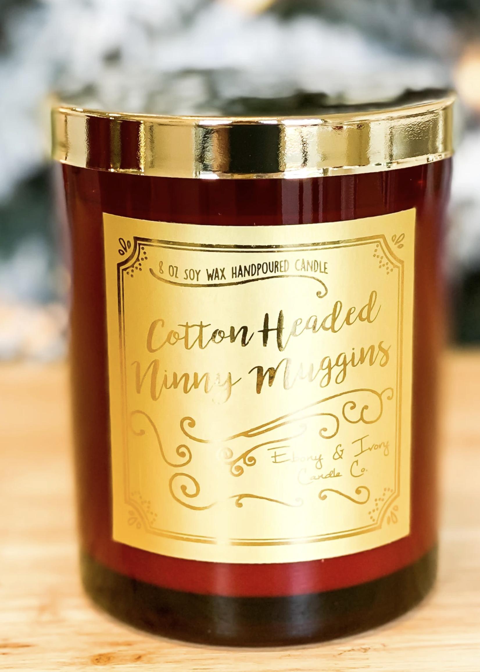 Ebony & Ivory Candle Co. Cotton Headed Ninny Muggins Candle 8oz