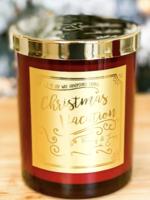 Ebony & Ivory Candle Co. Christmas Vacation Candle 8oz