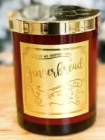 Ebony & Ivory Candle Co. Gingerbread Candle 8oz