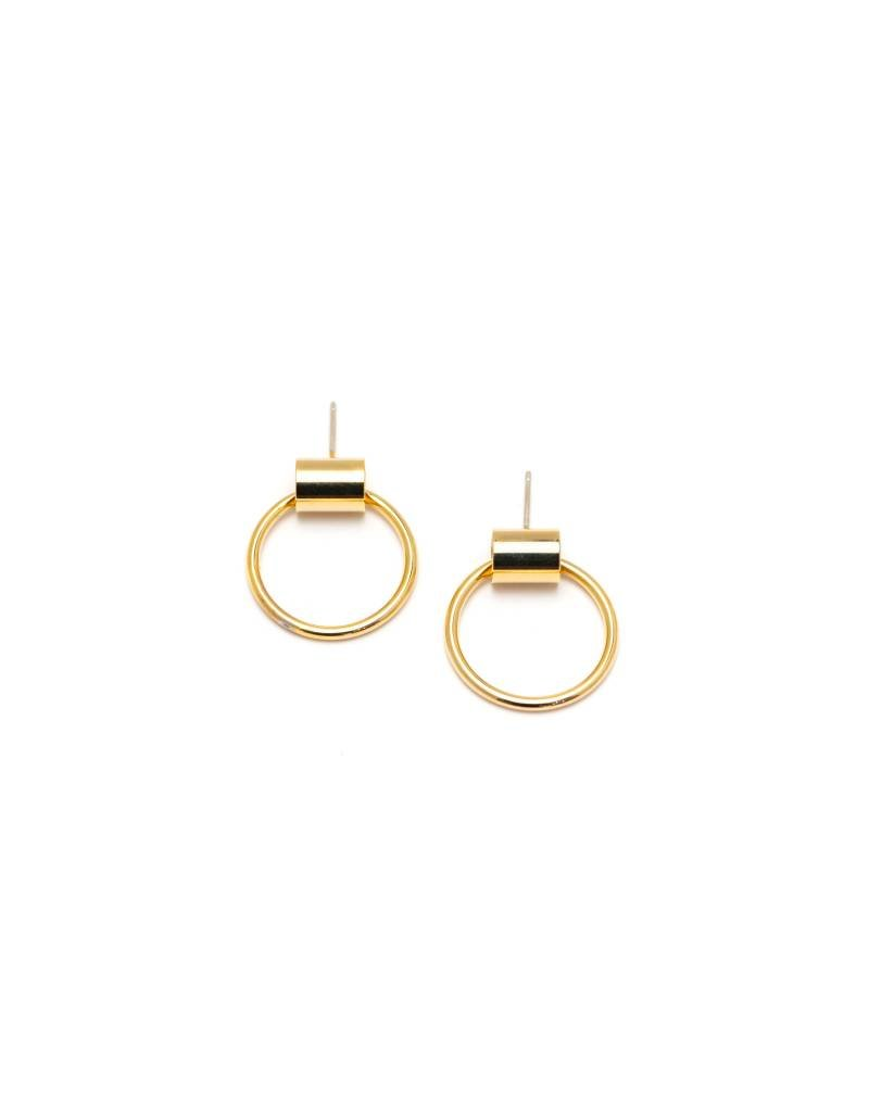 Small Swing Hoops Gold