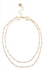 Elle Chain Necklace Gold