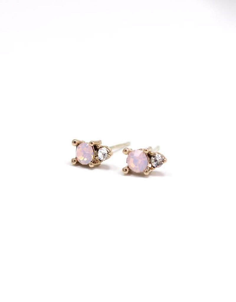 Dolce Studs Pink Opal