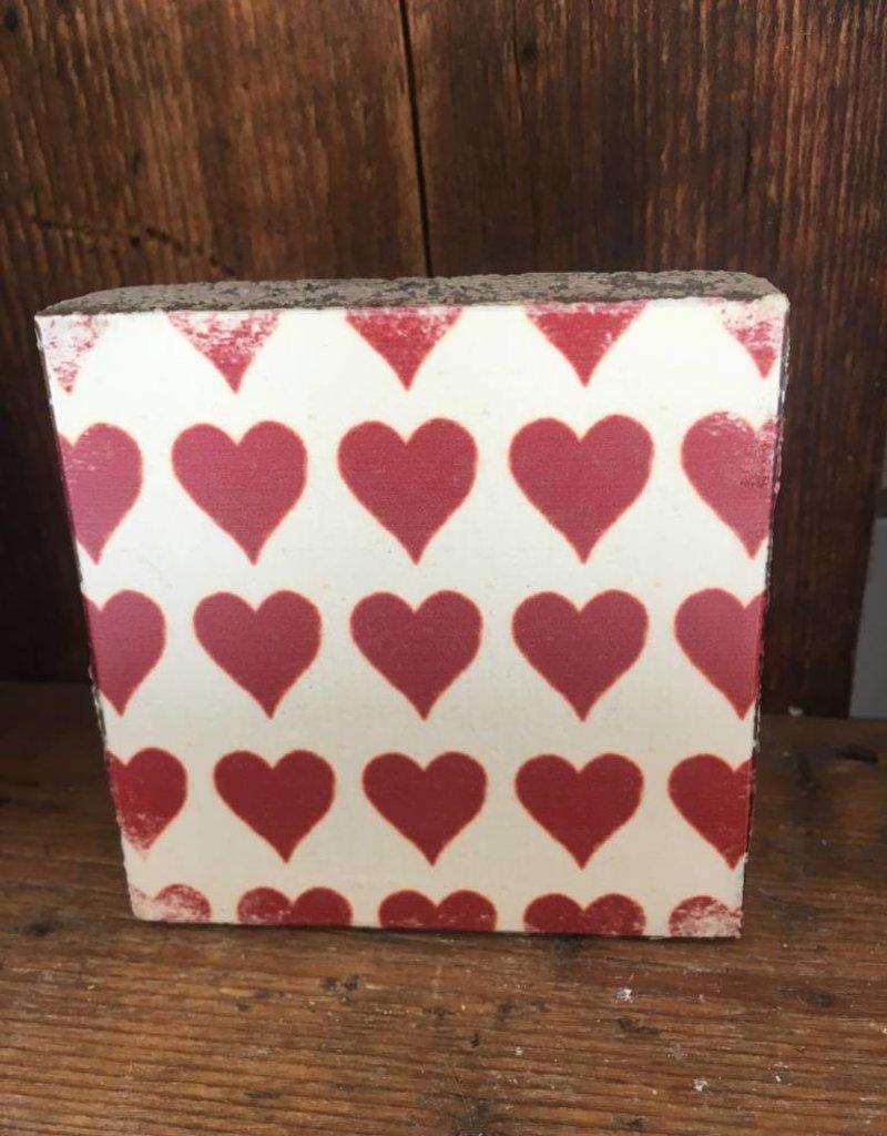 Hearts mini Art Block