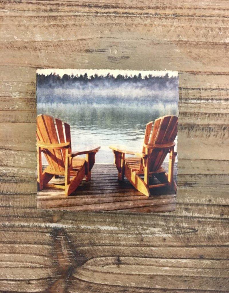 Adirondacks Chairs Art Block