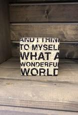 What a Wonderful Life Art Block