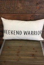 Weekend Warrior Cushion