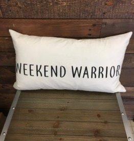 Weekend Warrior Cushion