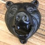 Bear head bottle opener