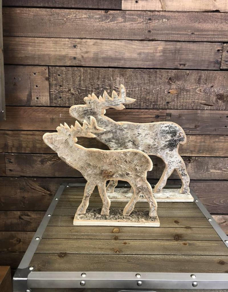 Birch Bark Elk Art