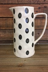 Dotty pitcher large