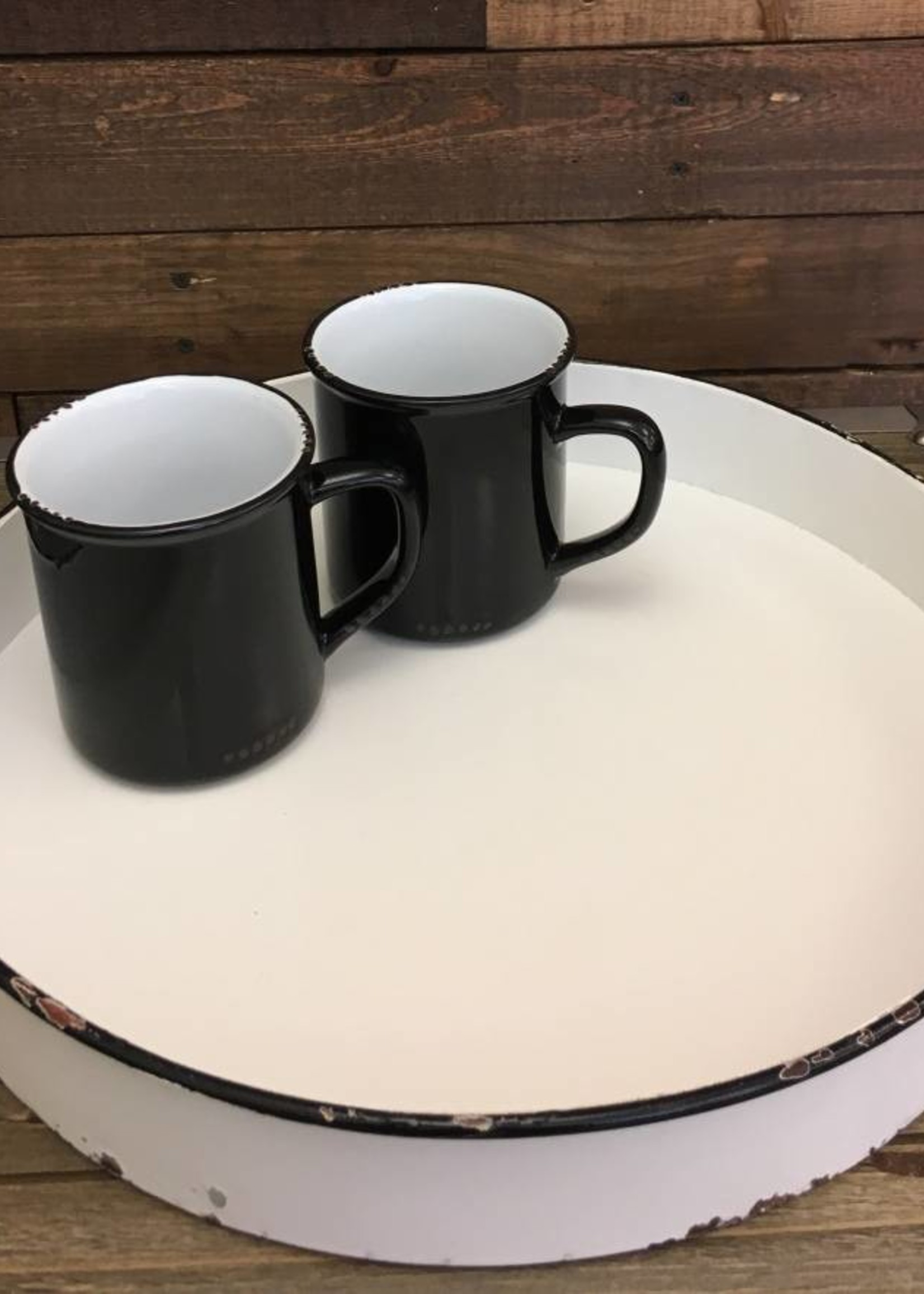 Enamel Looking Mug