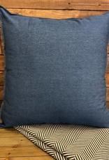 Dark blue Denim pillow