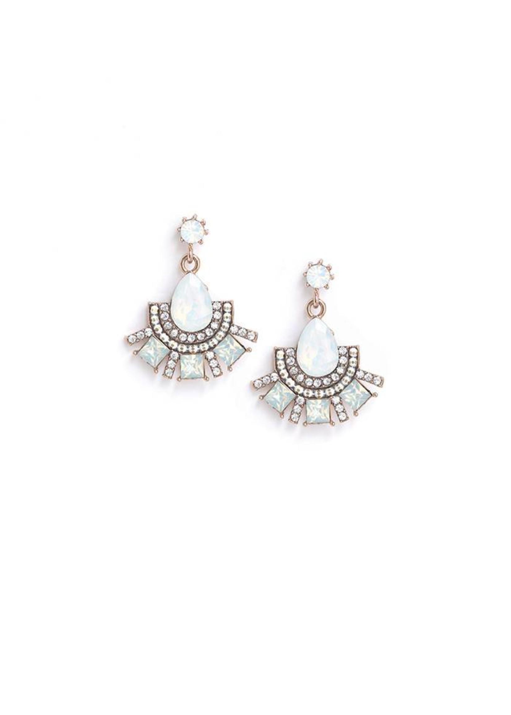 Allegro Fan Drop Earrings