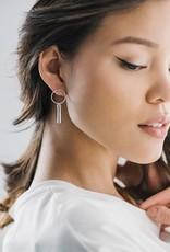 Ray of Light Earrings Silver