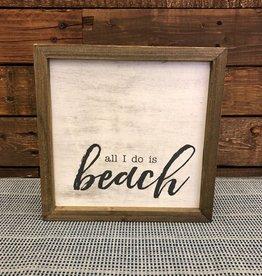 All Beach Barn Box Sign