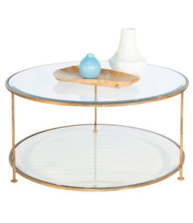 Rollo Gold Leaf Coffee Table