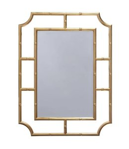 Marian Gold Leaf Mirror