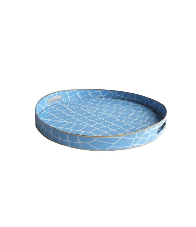 Blue Croc Tray / Small