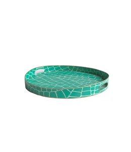 Emerald Croc Tray / Small