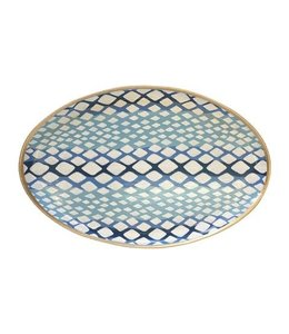 Python Platter in Blue