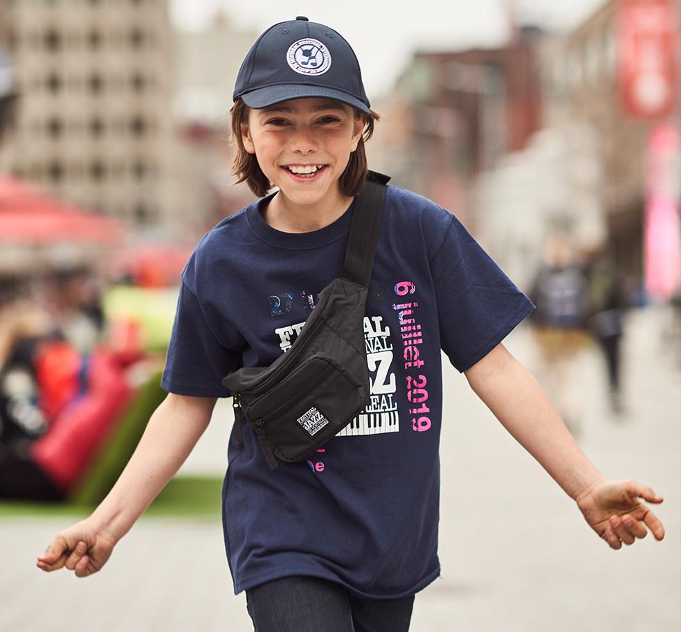 FIJM KIDS T-SHIRT 2019 BLUE DATES