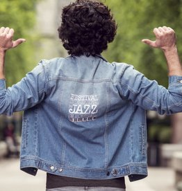 FIJM MHFJ17VI0001 - Manteau Jeans Vintage homme