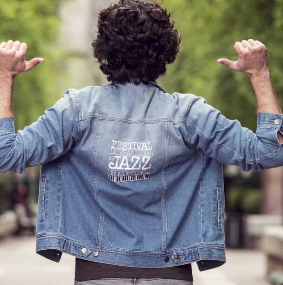 Manteau Jeans Vintage homme