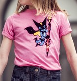 FIJM GIRLS T-SHIRT - SUPERHERO