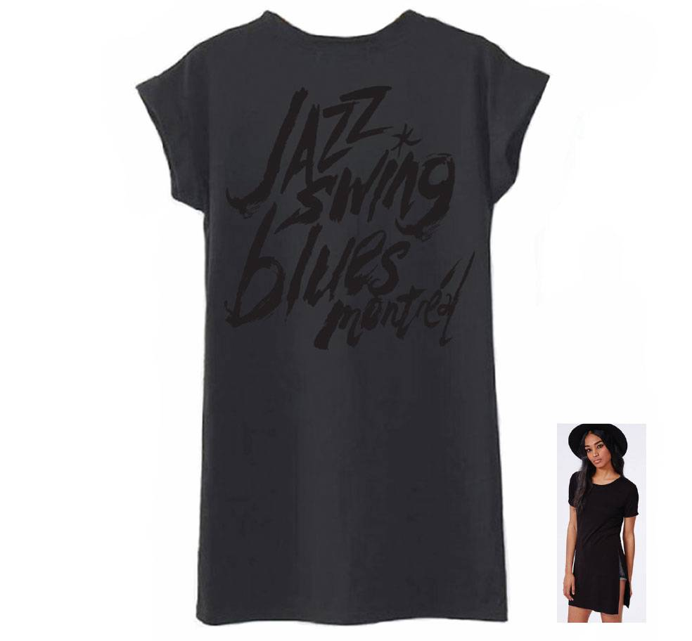 FIJM T-SHIRT FEMME - JAZZ SWING BLUES