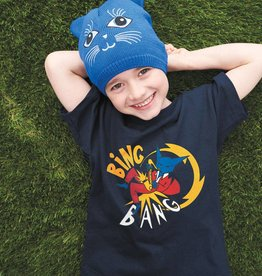 T-SHIRT POUR ENFANT UNISEX - CHAT BING BANG