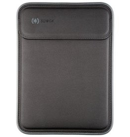 "Speck Speck | Flaptop 13"" Black/Grey Soft Case Universal Sleeve 