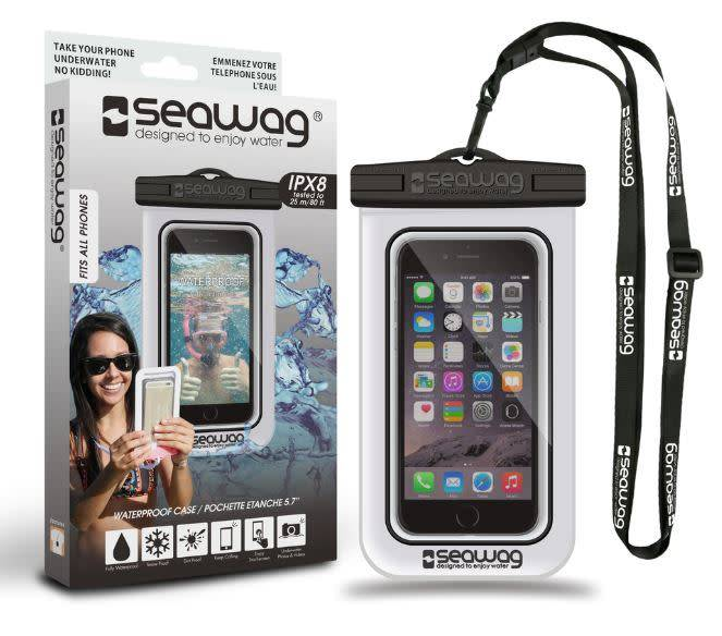 Seawag Seawag | Universal Waterproof Case White/Black | SEAW1