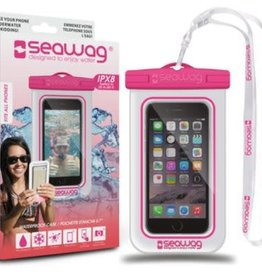 Seawag Universal Waterproof Case White/Pink SEAW3