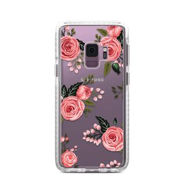 Casetify Casetify | Samsung Galaxy S9 Impact Case Pink Floral Roses | 120-0940