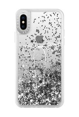 Casetify Casetify | iPhone Xs Max Glitter Case Take A Bow (Silver) | 120-1048